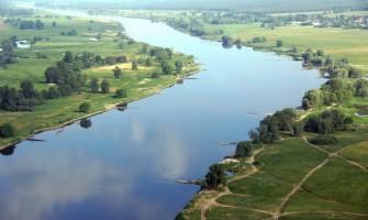 Jezioro Dąbie z zakątkami wodnymi